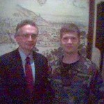 Lt Col (ret) Ralph Peters and Capt Chris Penningroth