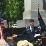 The grand finale: Chris speaks to Peoria County about Memorial Day