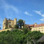 Hohenschwangau Castle from Hohenschwangau Village